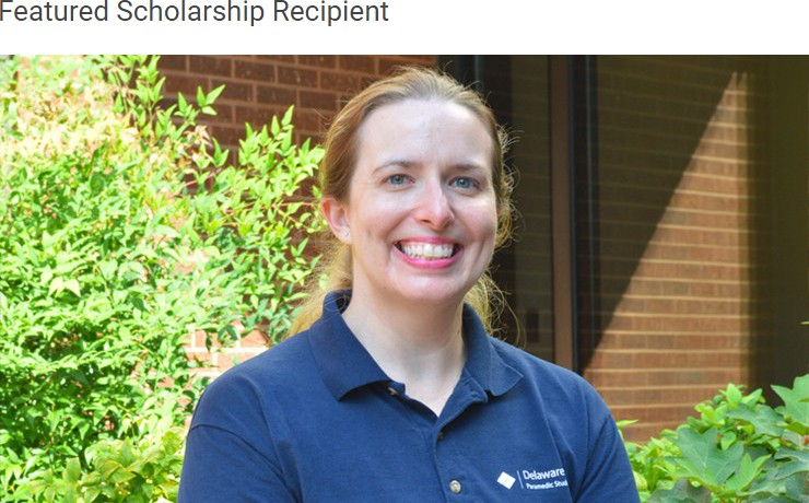 Featured Scholarship Recipient Natalie Nasatka
