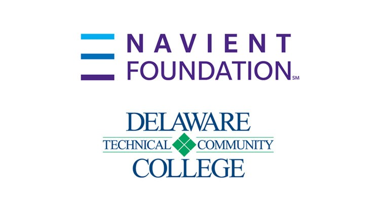 Navient Foundation and Delaware Technical Community College logos