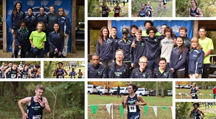 Delaware Tech Cross Country team