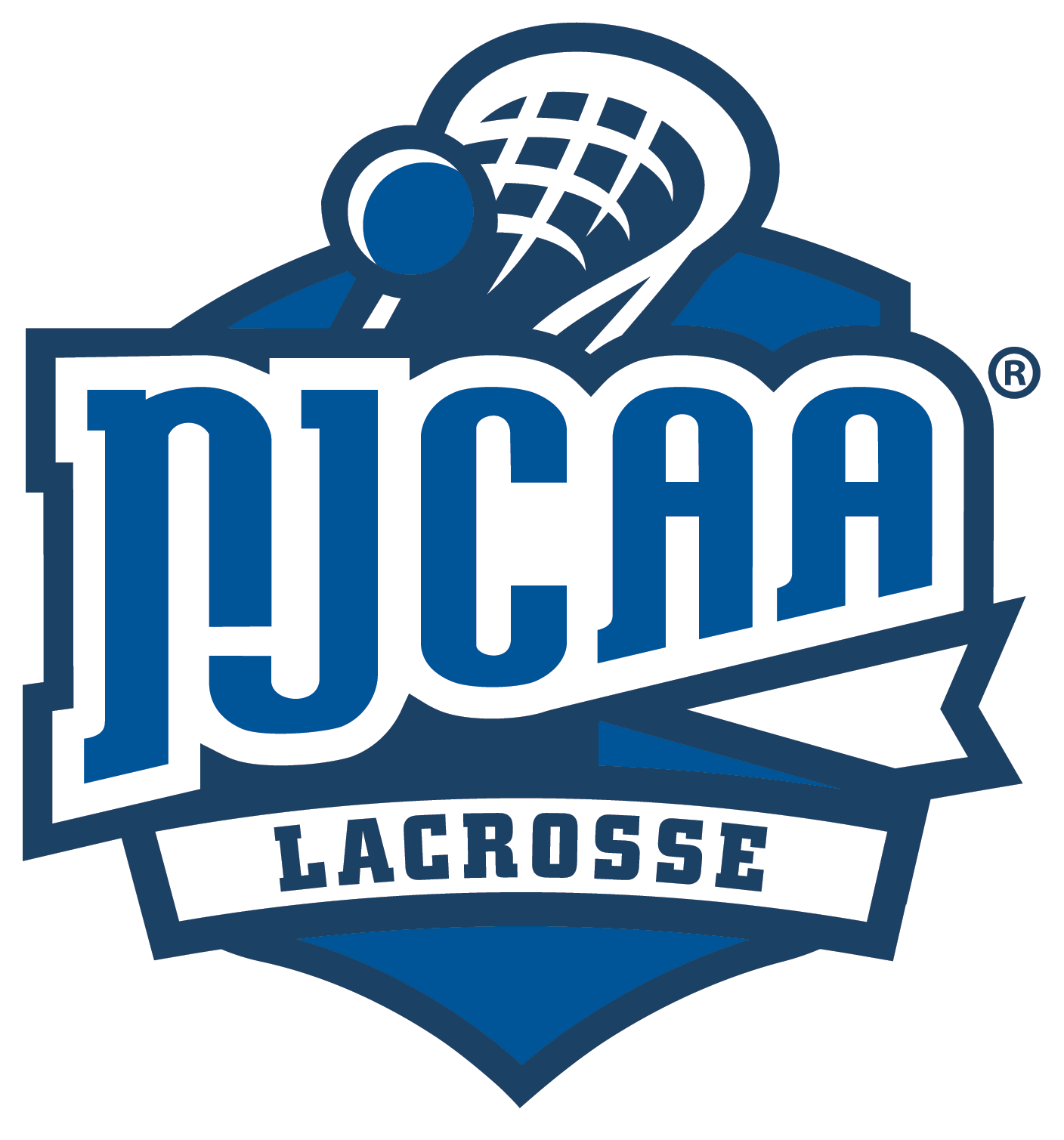 NJCAA Lacrosse Logo