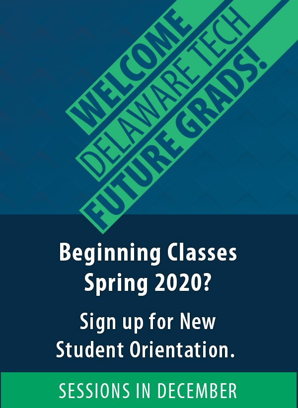 Beginning Classes Fall 2017? Sign up link for New Student Orientation. Sessions in July and August.