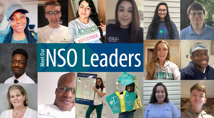 All the current NSO student leaders