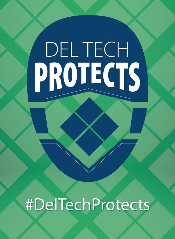 Link to Coronavirus Webpage - Delaware Tech Protects!