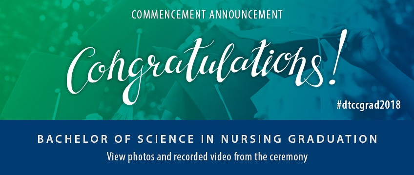 Link to Bachelor of Science in Nursing Graduation 12/10/18 6 p.m. live video stream.