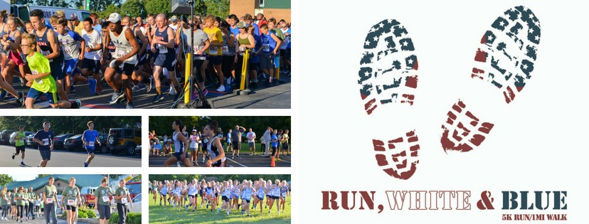 Run White and Blue 5k