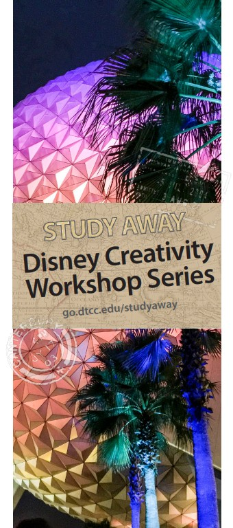 Study Away Disney Creativity Workshop Series