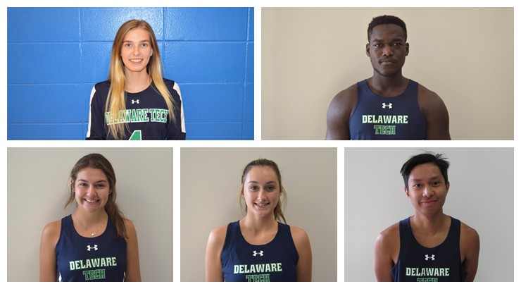 Five student athletes featured for the month of September