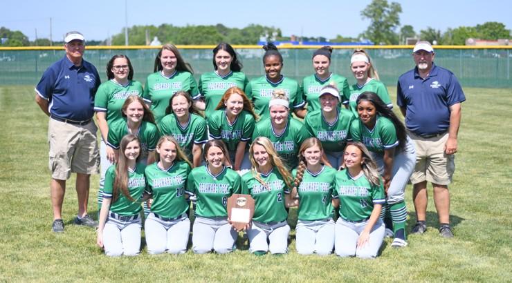 Delaware Tech's Softball team for the 2021 Spring season