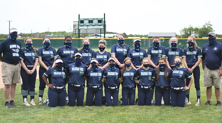 The  Delaware Tech softball team won the 2021 NJCAA Region 19 Championship.