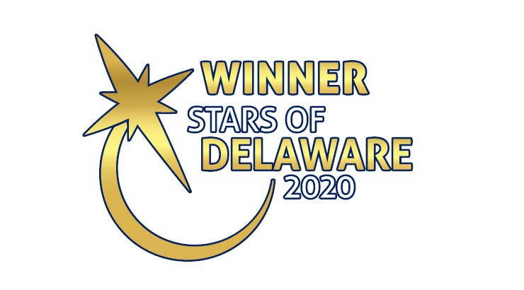 Winner Stars of Delaware 2020 logo