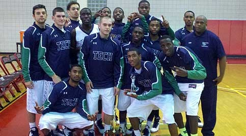 Stanton and Wilmington Campuses' Men's Basketball Team photo