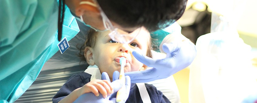 Dental Health Center student and client