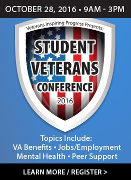 Student Veterans Conference Link - Held annually in October
