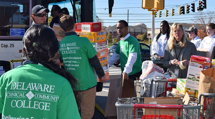 Stuff the Bus Thanksgiving Food Drive