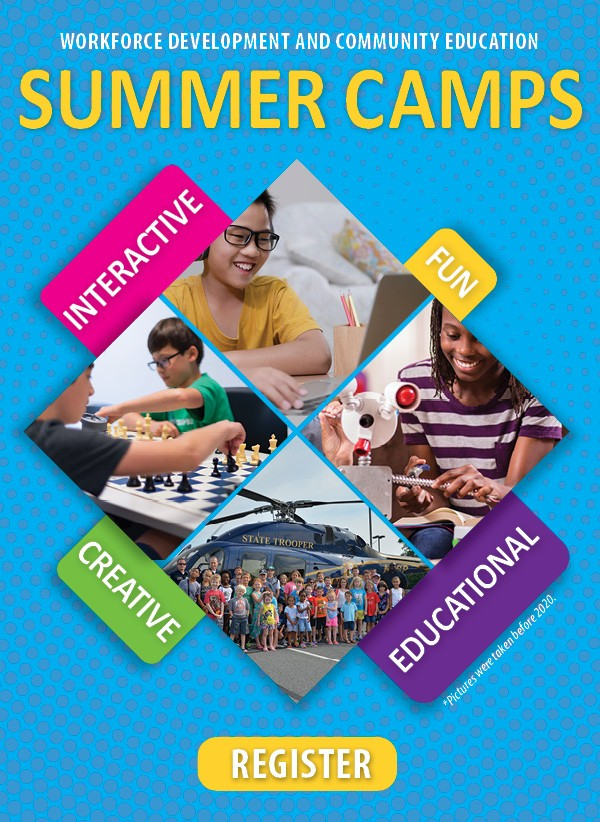 Link to summer camps.