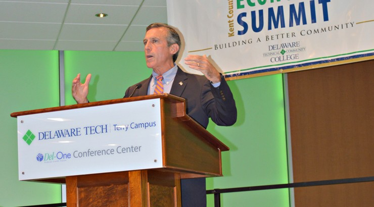 Governor Carney delivers keynote address