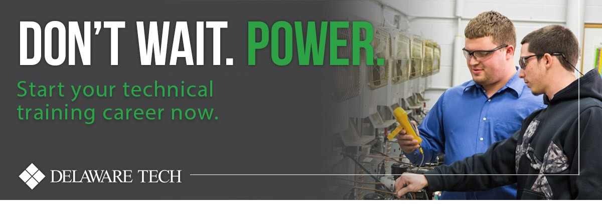 Don't wait. Power. Start your technical training career now.
