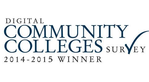 Digital Community Colleges Survey 2014-15 winner logo