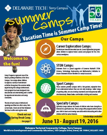 Dover - Summer Camps Booklet