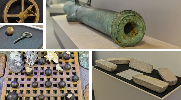 Treasures of the Sea exhibit