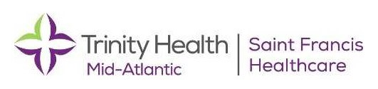 Trinity Health Mid-Atlantic - Saint Francis Healthcare Logo.