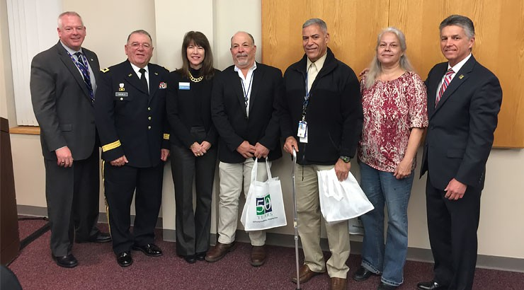David Strawbridge, Major General Frank Vavala, Dr. Kathy Janvier, Mike Merrill, Miguel Marcos, Patricia Woosley, Dr. Mark Brainard