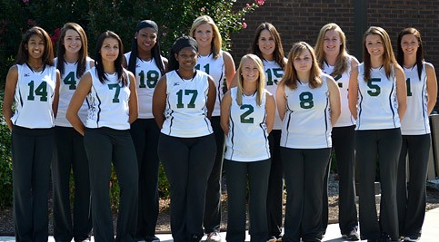 Lady Hawks Volleyball team photo