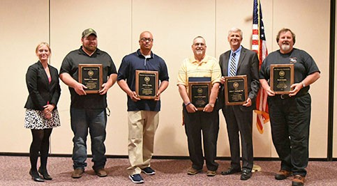 The 2014 Water and Wastewater Professionals Annual Awards Ceremony awardees