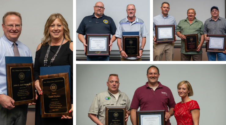 Recipients honored at the Operator of the Year Ceremony.