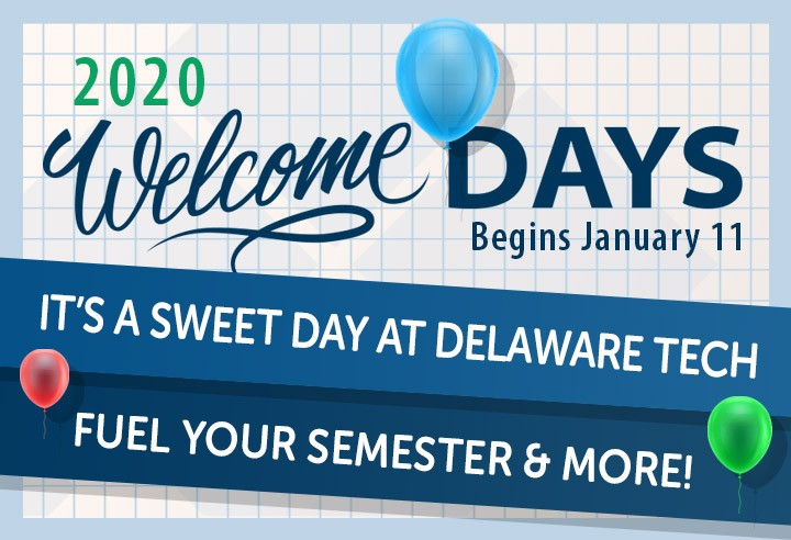 Link to Welcome Days - Begins January 11, 2020.