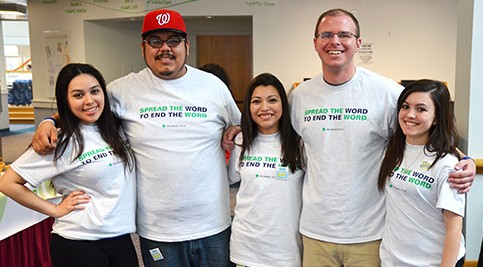 Students Participate in Spread the Word Campaign