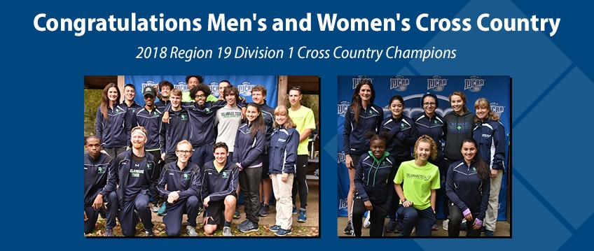 Delaware Tech Cross Country teams win 2018 NJCAA Region 19 Championship