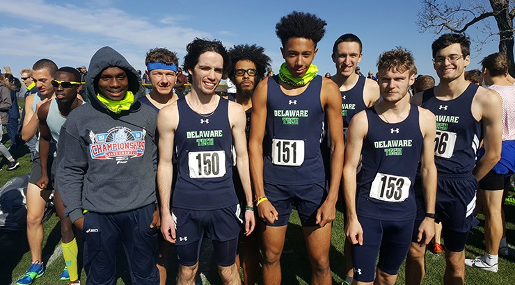 Delaware Tech Cross Country men's team