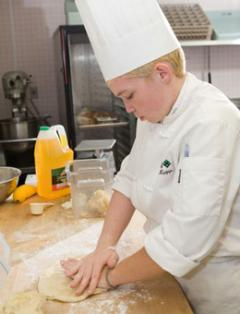 Image of pastry chef student