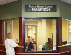 Dental Health Center reception area