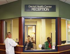 Dental Health Center reception area