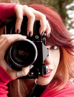 Photo Imaging student