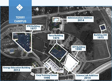 terry campus map